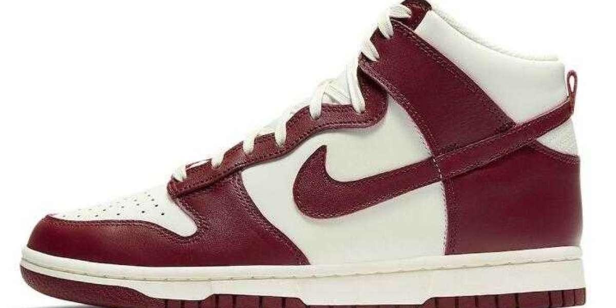2021 New Release Nike Dunk High Is Coming in Team Red