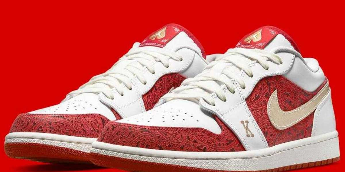 Latest Air Jordan 1 low Spades Coming Wiht Suited King-Queen