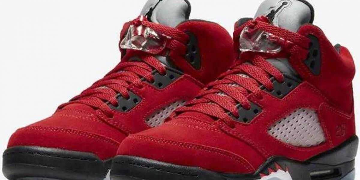 Where to Buy Discount Air Jordan 5 Raging Bull Varsity Red ?