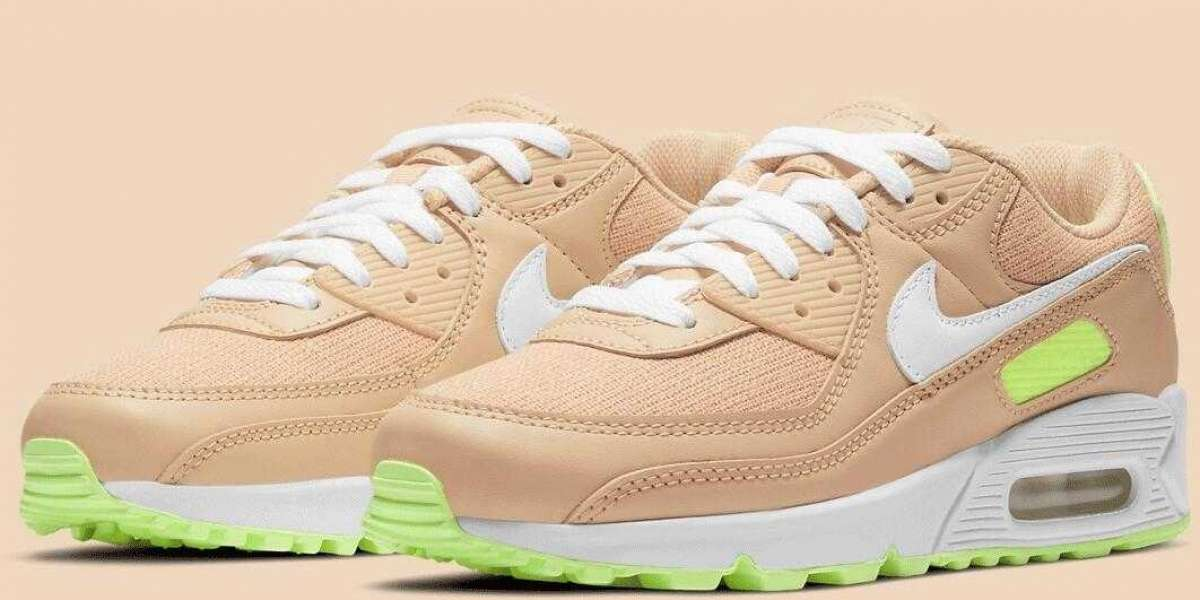 2021 Women's Nike Air Max 90 Sesame Is Available for Online Sale