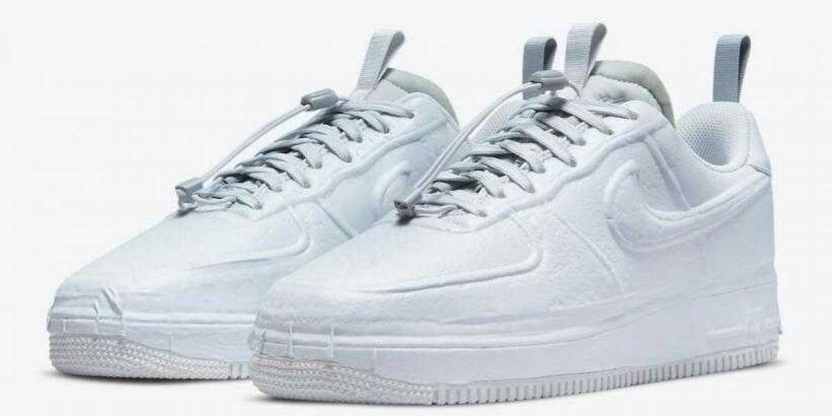 Newest Nike Air Force 1 Low Experimental Release With Cool Grey Colorway